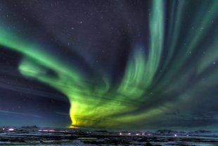 Nordlicht (Aurora borealis) HDRI von Pham Nuwem