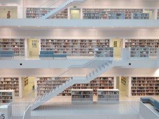 Landesbibliothek Stuttgart von Wolfgang Schuster
