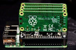 Raspberry Pi Zeros 4 von simonwaldherr