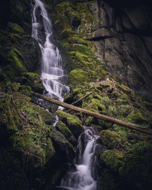 Wasserfall Blauenthal von erzgebirgszorro
