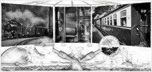 Zeitweichen (GI - Triptychon) von m a n n i x