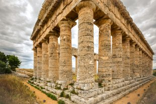 Der Hera Tempel von Segesta von Frank Jakobi