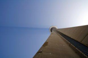 Schaft des CN Tower, Toronto von Taxiarchos