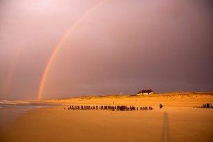 Regenbogen auf Sylt von Ma07