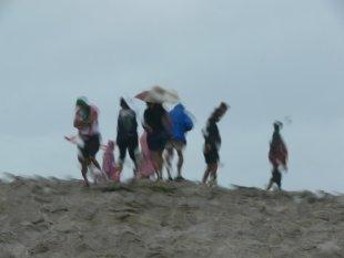 Regentag am Meer von Gabi Temmen