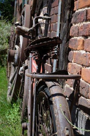 Old Bike von Peter Kryzun