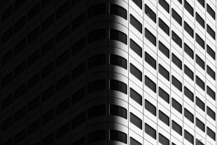 Changing of the light II (silver version) von totalstranger