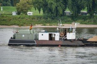 Schubschiff auf dem Rhein von DefConData