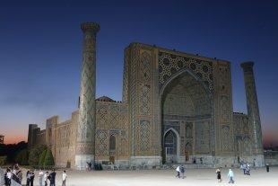 Registan in Samarkand von Volker H.