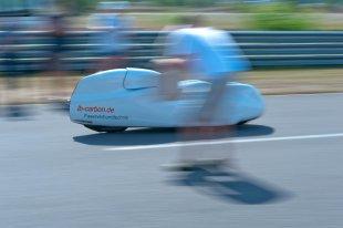 Weltrekordversuch Lausitzring: anfeuern von Muellmann