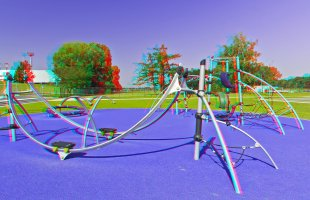 Fittness-Platz in 3D von Dieter Nicolaus