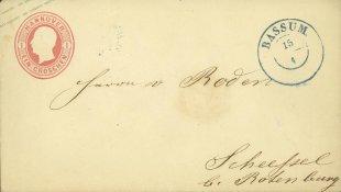 Königreich Hannover - Brief von 1859 von Oldletter