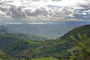 Ausblick im Hochland von Monteverde von brinsk