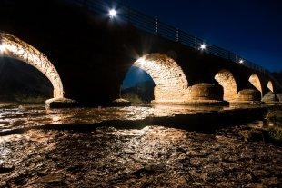 Saalebrücke Jena-Burgau von Forstwirt