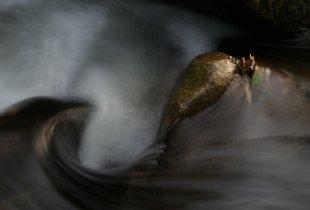 Herbstlaub-Wasserwirbel von habru