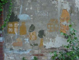Alte Wandmalerei von AUde-Vide