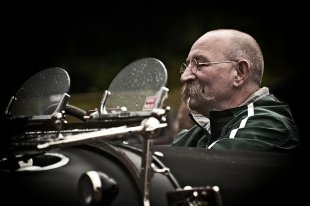 Horst Lichter in seinem Bentley von Thomas Reinhard