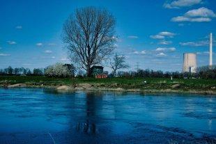 An der Weser von Peter Kryzun