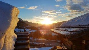 Sonnenuntergang im Winter von Ib3ze