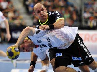 Handball-Kampf von wolfstone