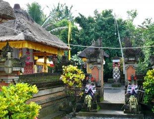 Der Tempelbereich, Bali 7 von RüdigerLinse