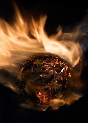 In Flammen von eschem
