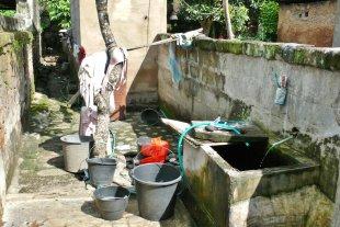 Badezimmer, Bali 5 von RüdigerLinse