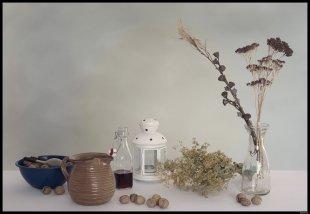 Stillleben mit Eukalyptus von Rontrus