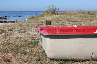 Boot am Meer von M  T