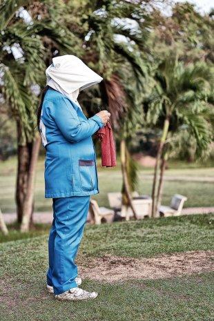 Golf Caddy von Hubertus Dan