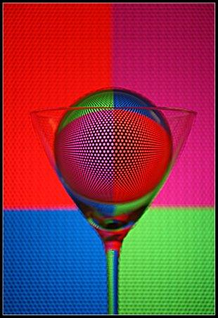 Farbspiel in der Glaskugel von Didjeh