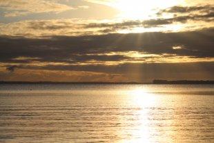 Sonnenaufgang_Ostsee von Marcin Deregowski