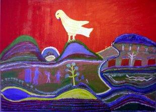 Wandbild von Aborigines 2 von Jademax