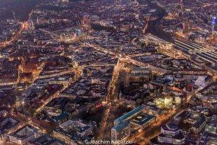 Hannover-City Abend von Joachim Kopatzki
