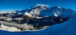 Ausblick auf den Mount Blanc von Pham Nuwem