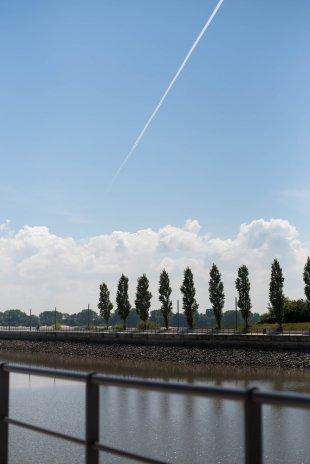 Linien und Wolken von oxford21