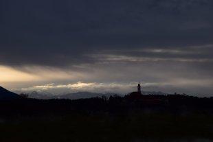 Bayrische Silhouette von F.otto