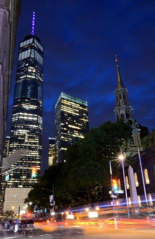 Freedom Tower vom Broadway gesehen von Jürgen Merkel
