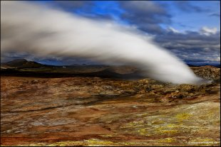 Gunnuhver Hot Springs Iceland II von Stefan Bock