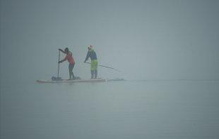 Wasserwandern im Nebel von Kupfer43