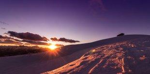 Sonnenuntergang am Berg von Meiko S