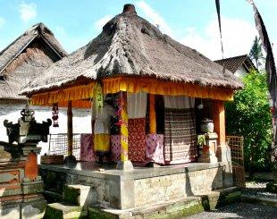Der Hauptschrein; Bali 8 von RüdigerLinse