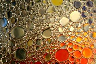 Öl in Wasser 2 von Joachim Steck