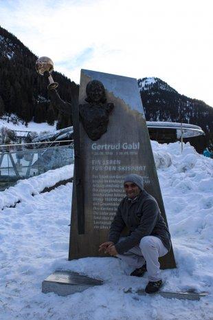 Gertrud Gabl Skulptur von Harry Dona