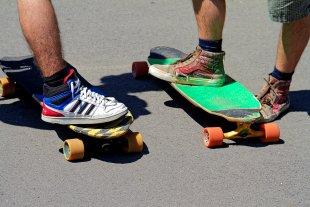 Skateboard von Jürgen Guhlke