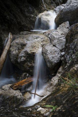 Kleiner Wasserfall in der Haslerschlucht von Martin Krk