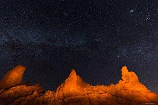 Nachts im Teide Nationalpark von lewski