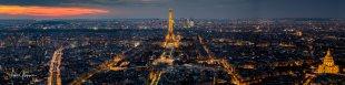 Panorama - Paris bei Nacht von Fotoblogger