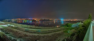 Portimao night skyline von jfrede