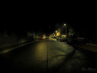 Buirer Nachtleben - Dorf Strasse von MoBIoS